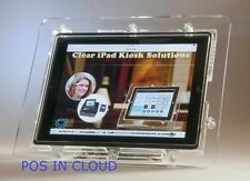 New iPad 2/3/4 VESA Security Enclosure for Store Show Display Square Card Reader