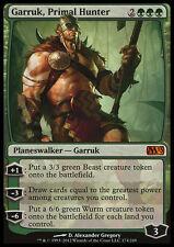 FOIL Garruk, Cacciatore Primitivo - Garruk, Primal Hunter MTG MAGIC M13 2013 Ita