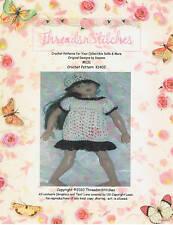 """NEW #131 Crochet Pattern K1402  for KISH Raven 14"""""""