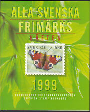 SWEDEN 1999 OFFICIAL BOOKLET YEARSET