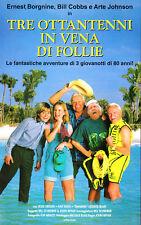 Tre Ottantenni in vena di Follie  (1990)   VHS - Ernest Borgnine Bill Cobbs