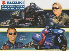 2017 Karen Stoffer + Scotty Pollacheck Suzuki Pro Stock Motorcycle Nhra postcard