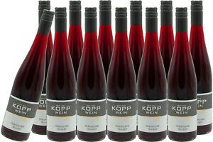 (12 x 0,75l) 20er DORNFELDER trock. Qualitätswein Erzeugerabfüllung Weingut Kopp