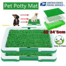 Pet Potty Trainer Grass Mat Dog Puppy Training Pee Patch Pad In/Outdoor Toilet
