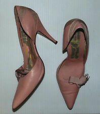 TED BAKER WOMEN DRESSED 4 INCHES HEEL PINK SHOES PUMPS CLASSICS  SIZE 10