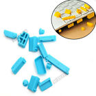 13PCS Silicone Anti-Dust USB HDMI Port Plug Cover For Laptop Notebook ACTPLUS
