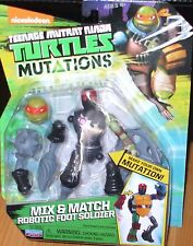 Teenage Mutant Ninja Turtles MUTATIONS ~ ROBOTIC FOOT SOLDIER TMNT Action Figure