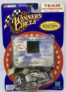 Dale Earnhardt #3 NASCAR Winners Circle Team Authentics Rare Uniform With Patch