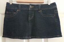 Ladies size 10 Dark Blue Mini Denim Skirt - Jay Jays