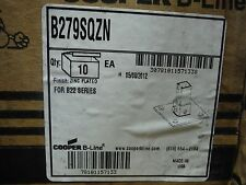 Cooper B-Line B279SQZN POST BASE (2pcs) Zinc