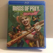 DC Comics Birds of Prey Harley Quinn Movie Blu-Ray Disc Only (No DVD No Digital)
