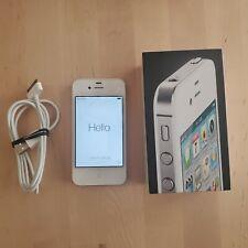 Apple iPhone 4 - 8GB - White (Verizon) A1349 (CDMA) fantastic condition