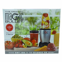 The Original Magic Bullet Countertop Blender 11 Piece Set Dishwasher Safe