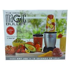 The Original Magic Bullet Countertop Blender 11 Piece Set Dishwasher Safe