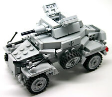 German Armored Car SD.Kfz 222 WW2 Custom Panzerspähwagen made with real LEGO®