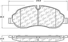 Disc Brake Pad Set-C-TEK Metallic Brake Pads Front Centric 102.17740