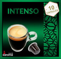 10 Capsules Compatible Nespresso Machines! New! (INTENSO) 2-3 Day Delivery!