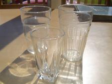 3 Vintage Assorted Drinking Glasses