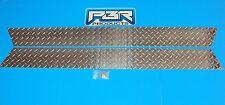 "Jeep TJ Wrangler 5"" Diamond Plate Rocker Guards  Panels 1997 thru 2006 buy now"