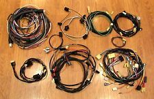 1957 CHEVY WIRE HARNESS KIT 2 DOOR STATION WAGON  with ALTERNATOR WIRING