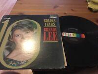 Brenda Lee: 10 Golden Years LP on DECCA DL-74757 Orig. 1966 Press VG+/ VInyl NM
