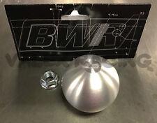 Blackworks Racing BWR 10x1.5 Aluminum Ball Style Shift Knob Silver Honda Acura