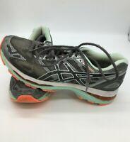 Asics Gel Nimbus Women's Running Shoes Size 9.5 Gray/ Seafoam Green T750N