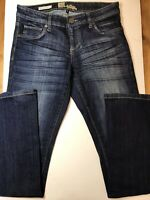 Kut From The Kloth Women's Size 2 Blue Jeans Farrah Baby Bootcut