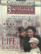 Life Is Beautiful (Dvd, 1999, Collector's Series Widescreen