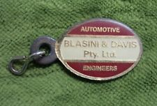 #D275.  BLASINI & DAVIS AUTOMOTIVE   KEYRING PENDANT - BALGOWLAH