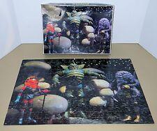 1977 Space Warriors Colorforms Outer Space Man Alien Puzzle Astro Nautilus