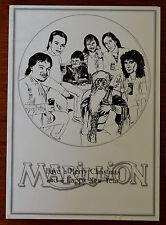 Marillion Web Christmas Card 1980's, Fish Era