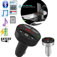 Bluetooth Car Kit Wireless Fm Transmitter Dual Usb Charger Audio Mp3 Player Fm36