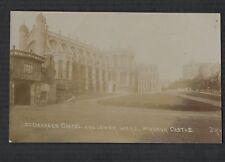 Windsor Castle St Georges Chapel Lower Ward RP 1911 postcard J R & S qa119