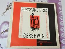 """DISQUE 33 TOURS GERSHWIN """"PORGY AND BESS"""""""