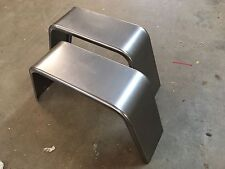 "PAIR of Trailer Fenders Single Axle 10"" X 18"" X 36"" Jeep Style 16 GA Steel"
