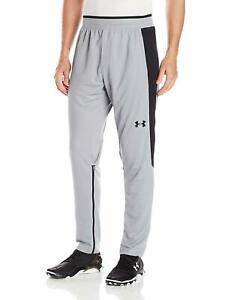 NWOT Under Armour Men's Steel Gray UA Select Shooting Basketball Fitted Pants