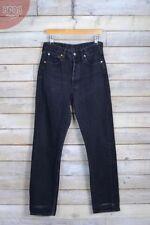 Jeans da donna gamba dritta alte nere