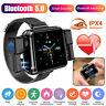 2 in 1 Smart Watch w/TWS Earbuds Wireless Headphone Bluetooth Earphone Wristband