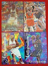 1995-96 FLAIR HOT NUMBERS MALONE Anticipation Robinson Michael Jordan Garnett