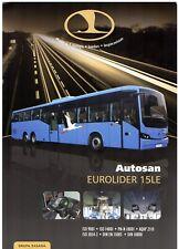 Autosan Eurolider 15LE Intercity Bus 2010-11 Polish Single Sheet Sales Brochure