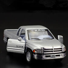 Dodge RAM 1500 Pickup Trucks Model Cars 1:44 Toys Gifts Alloy Diecast Silver New