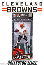 McFARLANE NFL 35 - CLEVELAND BROWNS - JOHNNY MANZIEL LEVEL FIGUR  -NEU/OVP