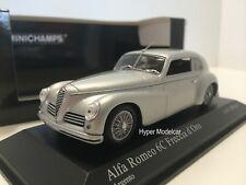 MINICHAMPS 1/43 Alfa Romeo 6C Freccia D'Oro 1947 Silver Art. 400120480