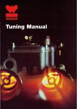 WEBER DCOE,IDF,IDA,DCNF,DCO/SP TWIN CARBS/CARBURETTOR TUNING MANUAL BOOK