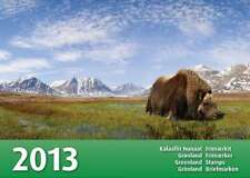 [CF9012] Groenlandia 2013, Libro emisiones 2013 (MNH)