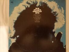 "Bob Dylan ""Greatest Hits"" LP + Milton Glaser poster #F"