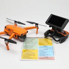 DJI Mavic 2/Air Preflight / Postflight Safety Checklist - Large Print XL Edition