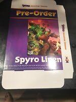 Spyro Reignited Trilogy GameStop Exclusive Promo Poster Box