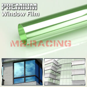 Light Green Window Tint Film UV Heat Reflective Home Office